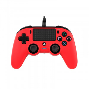 Nacon Compact Wired Controller - Red (PS4)